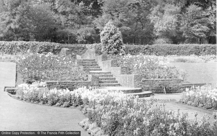 Photo of Beauchief, The Gardens c.1950