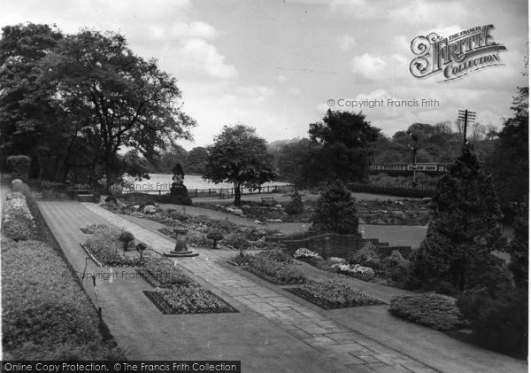 Photo of Beauchief, The Gardens c.1955