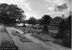 Beauchief, The Gardens c.1955