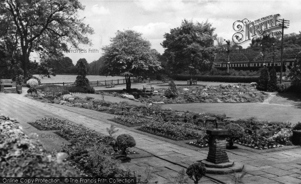 Photo of Beauchief, The Gardens c.1965