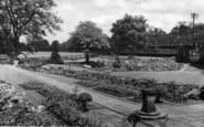 Beauchief, The Gardens c.1965