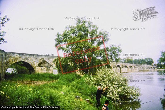 Photo of Beaugency, The Bridge c.1984