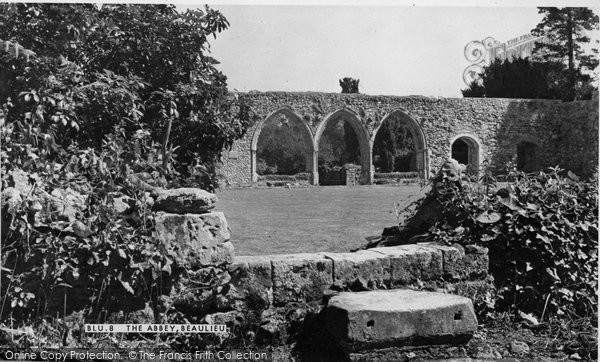 Photo of Beaulieu, Abbey c1960