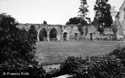 Beaulieu, Abbey Chapter House c.1950