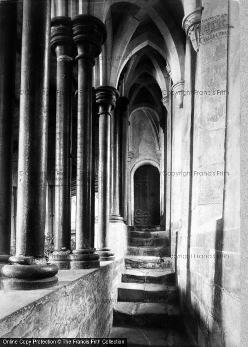 Photo of Beaulieu, Abbey Church, Steps To Stone Pulpit 1908