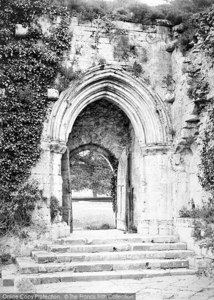 Photo of Beaulieu, Abbey, South Door c.1900
