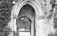 Beaulieu, Abbey, South Door c.1900