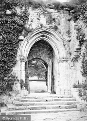 Beaulieu, Abbey, South Door c.1900