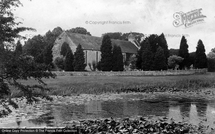 Photo of Beaulieu, The Abbey Church 1908