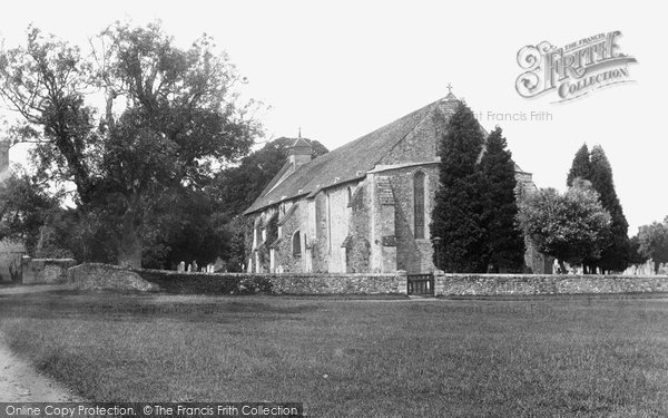 Photo of Beaulieu, The Abbey Church 1908