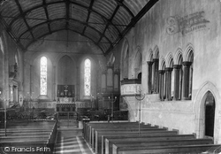 Beaulieu, The Abbey Church Interior 1908