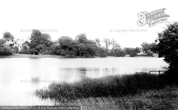 Photo of Beaulieu, The Lake 1908