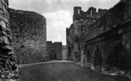 Beaumaris, Castle 1930