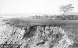 Beaumaris, Castle And Cliffs 1904