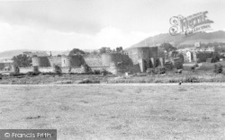 Beaumaris, Castle c.1955