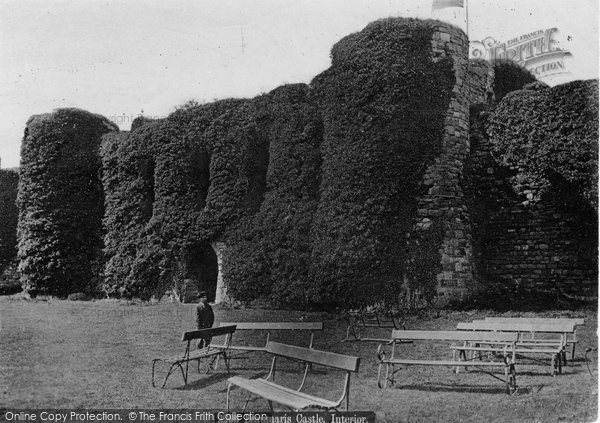 Beaumaris, Castle Interior c.1870