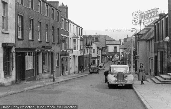 Beaumaris, Church Street c.1955