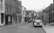 Beaumaris, Church Street c.1955