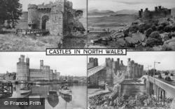 Composite, Castles In North Wales c.1955, Beaumaris
