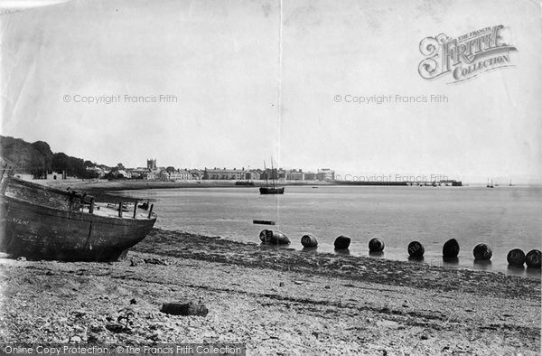 Beaumaris, From The Beach 1890