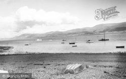 Beaumaris, Looking Towards Penmaenmawr c.1955