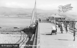 Beaumaris, Pier And Straits c.1955