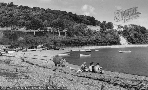 Beaumaris, The Beach, Gallows Point c.1960