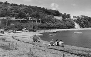 Beaumaris, The Beach, Gallows Point c.1960