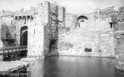 Beaumaris, The Castle c.1960