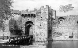 The Castle c.1960, Beaumaris