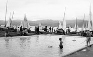 Beaumaris, The Paddling Pool c.1960