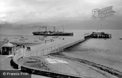 The Pier And Ss Marguerite 1911, Beaumaris