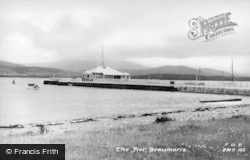 Beaumaris, The Pier c.1955