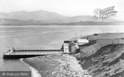 Beaumaris, Then Swimming Pool c.1955