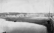 Beaumaris, Village From Pier 1892