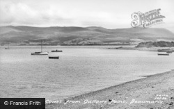 Beaumaris, Welsh Point From Gallows Point c.1950