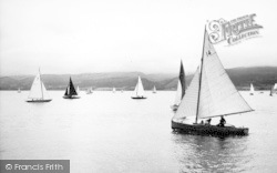 Beaumaris, Yachting c.1960
