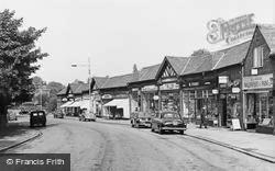 Bebington, Church Road c.1965