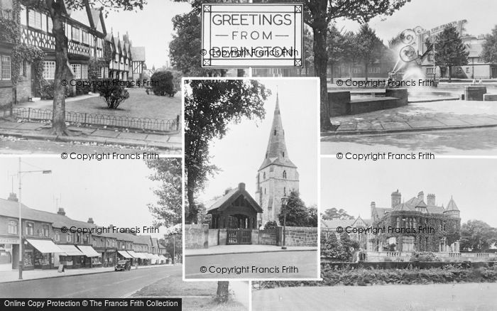Photo of Bebington, Composite c.1955