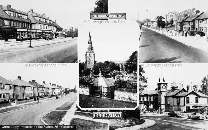 Photo of Bebington, Composite c.1965