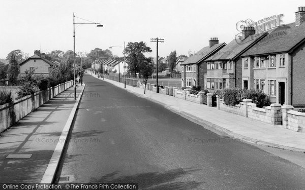 Photo of Bebington, Heath Road c1960