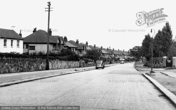 Bebington, Higher Bebington Road c1955