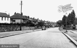 Bebington, Higher Bebington Road c.1960
