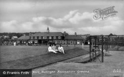 Port Sunlight Recreation Ground c.1936, Bebington