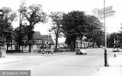 Bebington, Spital Cross Roads c.1965