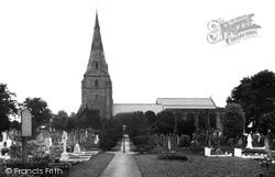 Bebington, St Andrew's Church 1936