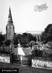Bebington, St Andrew's Church c.1965