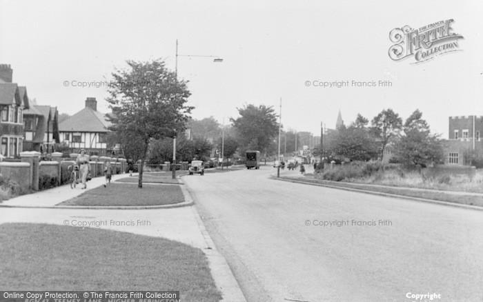Photo of Bebington, Teehey Lane c.1960