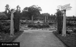 Bebington, The Rose Gardens 1936