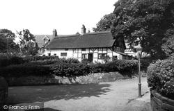 Bebington, The Thatched Cottages 1936